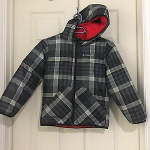 Boys' Reversible Columbia Jacket