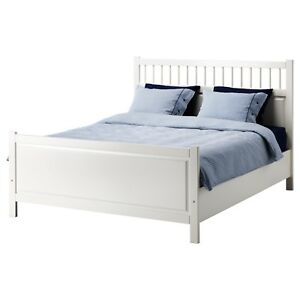 IKEA BED FRAME AND MATTRESSES **SIZE - DOUBLE**