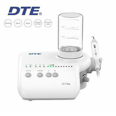 Woodpecker Dte Dental Ultrasonic Piezo Scaler Tooth Cleaner D7 Led Acteon