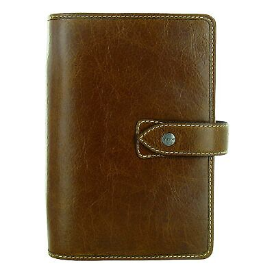 Filofax Malden Personal Organizer Leather Ochre 025808 Ring Binder 2021 Wpen New