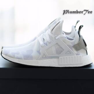 W US7.5 Brand New Adidas Original NMD XR1 Camo White