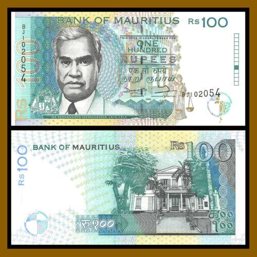 Mauritius 100 Rupees, 1998 P-44 Unc