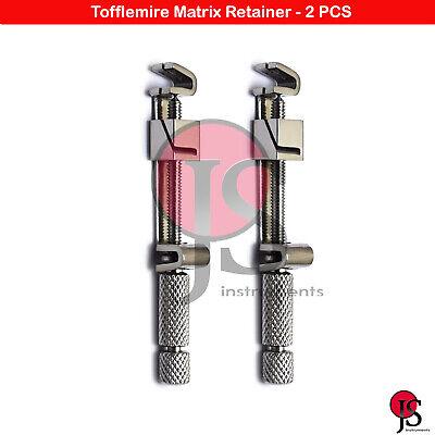 Matrix Universal Bands Retainer Restorations Dental Restorative Anterior 2 Pcs