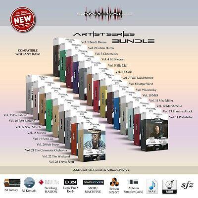 Samples & Loops 23 x Producer Pack 36 GB Wave Midi FL...