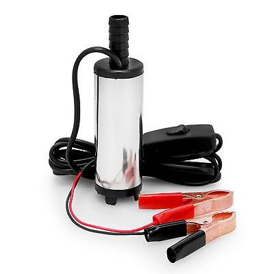 Wasser Pumpe Transfer Tauchpumpe Bootpumpe für Diesel 20L/min Ölpumpe 12V 38mm