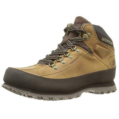 CAT Caterpillar Restore Ankle Boots Mens Leather Hiking Walking Lace Up Shoes Cat Walking Boots