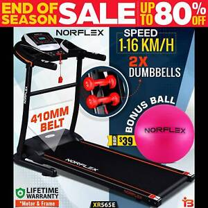 NORFLEX Electric Treadmill Home Gym Ball Exercise Machine XR565E