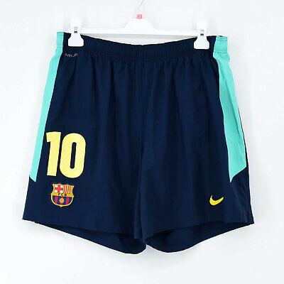 2010-11 Barcelona Away Shorts #10 MESSI Nike *New* L Jersey