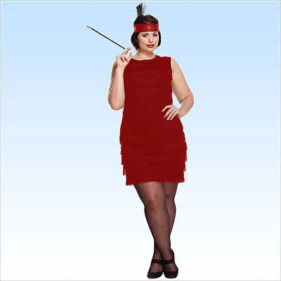Charleston Kostüm Johanna Gr. XL + Zigarettenhalter Kleid Tanz Josephine - Zigaretten Halter Kostüm