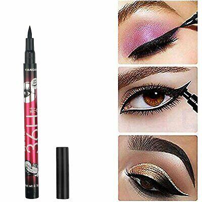 36H Eyeliner Waterproof BLACK Pen Liquid Black Eye Liner Pencil Make Up 2.5g USA Eyeliner