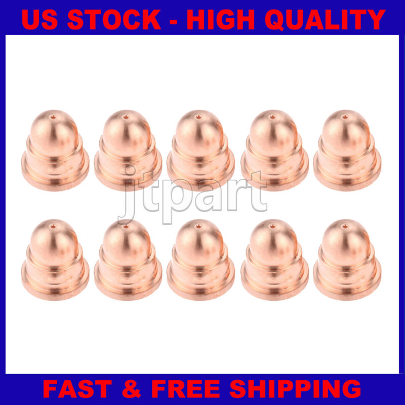 10 Pcs 220930 Fine Cut Nozzles 45A For 65 85 105 After Market Consumable