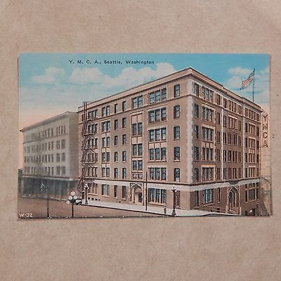 Vintage Postcard Y.M.C.A., Seattle, Washington
