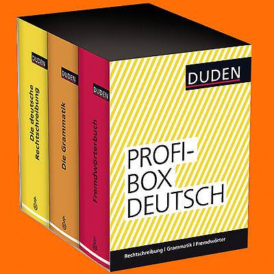 DUDEN - Profi-Box Deutsch | Duden Rechtschreibung Grammatik Fremdwörter (Buch)