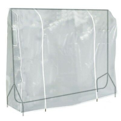 Hangerworld™ 6ft Clear Clothes Rail Cover Garment Coat Hanger Protector Storage