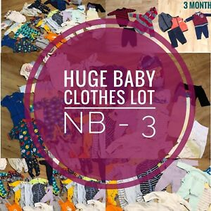 Huge baby clothes lot