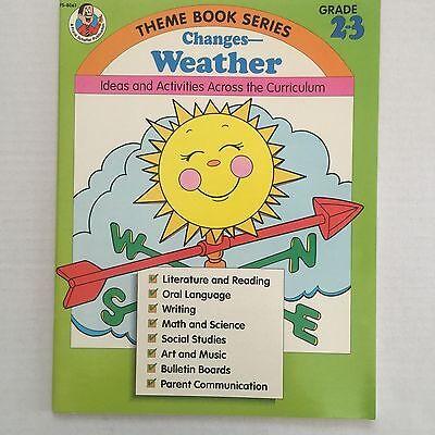 Weather Theme Teaching Classroom Resource Book Grade 2-3 Ideas Activities - Classroom Themes Ideas