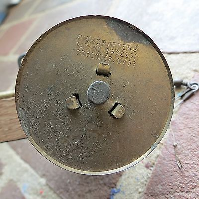 Fish Crafters Ice fishing Tip-Up fishing rod/reel c. 1950s Mass. USA (lot#8495)