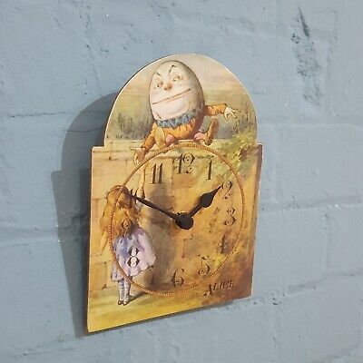 A traditionally designed wall clock and perfect for children