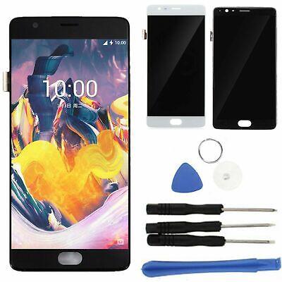 Für OnePlus 3T A3000 A3003 LCD Touchscreen Display Bildschirm+Rahmen Schwarz BE