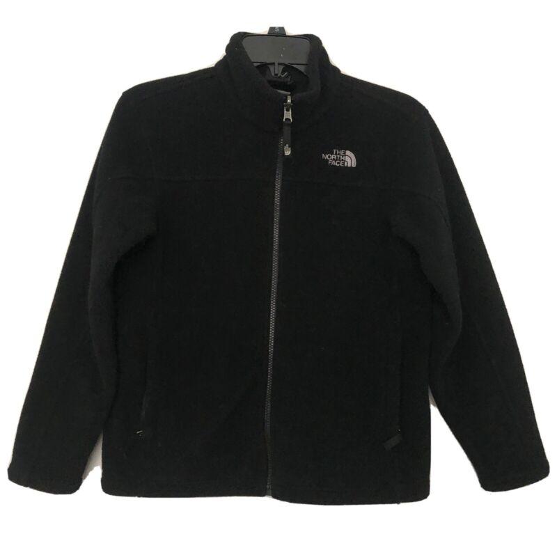 North Face Black Fleece Jacket Boy's Size 10/12