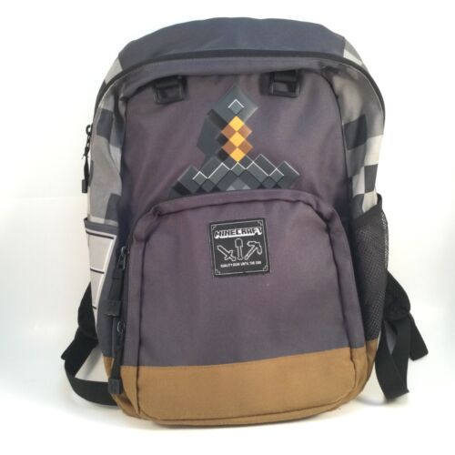 Minecraft Backpack Quality Until The End Designed By Jinx School Book Bag