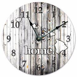 HAWAII RUSTIC HOME STATE CLOCK - Large 10.5 Wall Clock - 2219