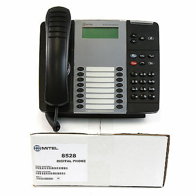 Mitel 8528 Lcd Display Phone - Refurbished Bulk