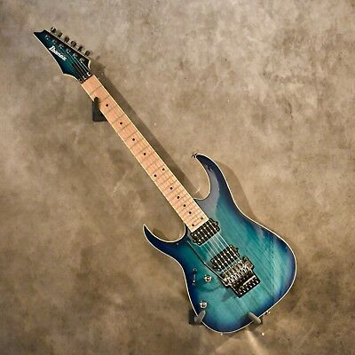 Ibanez Left Handed Prestige RG652AHMLNGB Nebula Green Burst Lefty Guitar for sale  Shipping to Canada