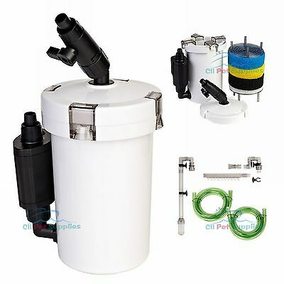 Mini External Canister Filter Table Top Nano Fresh/Salt Aqua