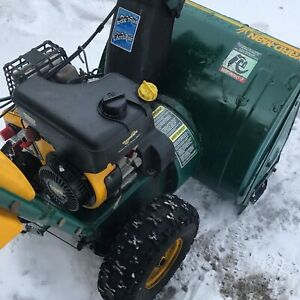 "*** New price***   MTD snowblower. 7hp 25"" Auger.  All tuned up"