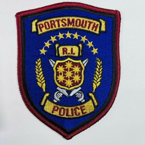 Portsmouth Police Rhode Island RI Patch (A3-A)