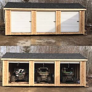 12ft x 20ft sheds (Maetche Construction)