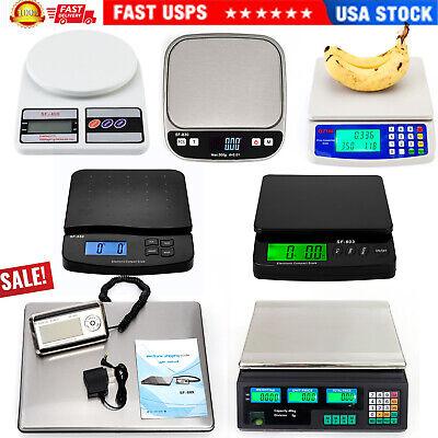 Lcd Digital Scale Electronic Kitchenpriceshipping Postal Balance Weighing Usa