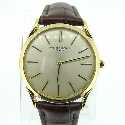 RARE Vacheron & Constantin Vintage Dress Watch Extra Slim 18K Yellow Gold 31mm