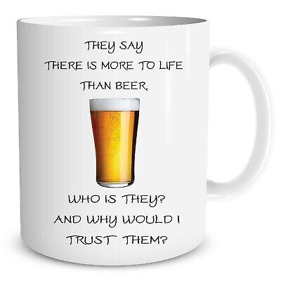 Becher Lustige Neuheit Drink Bier Scherz Vater Tag Geschenk Kaffeetasse Dekor
