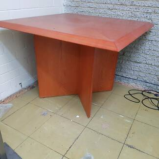 dining table -card table-1 meter x 1 meter & 74cm high