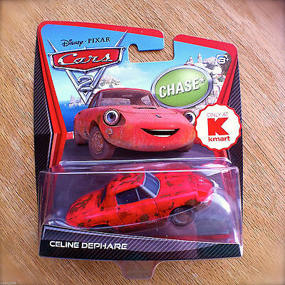 Celine is the only Cars characters with headlight eyes