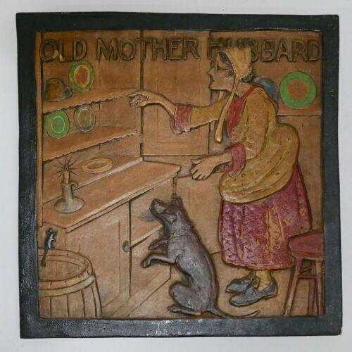Batchelder California Large OLD MOTHER HUBBARD Tile