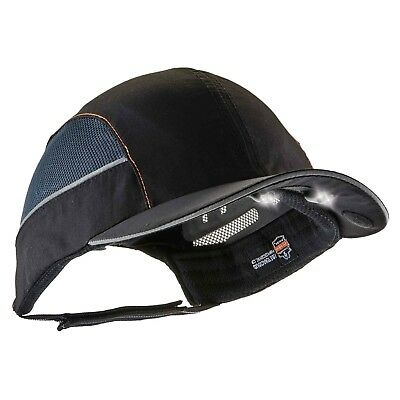 Ergodyne Skullerz 8960 Bump Cap W Led Lighting Technology Black