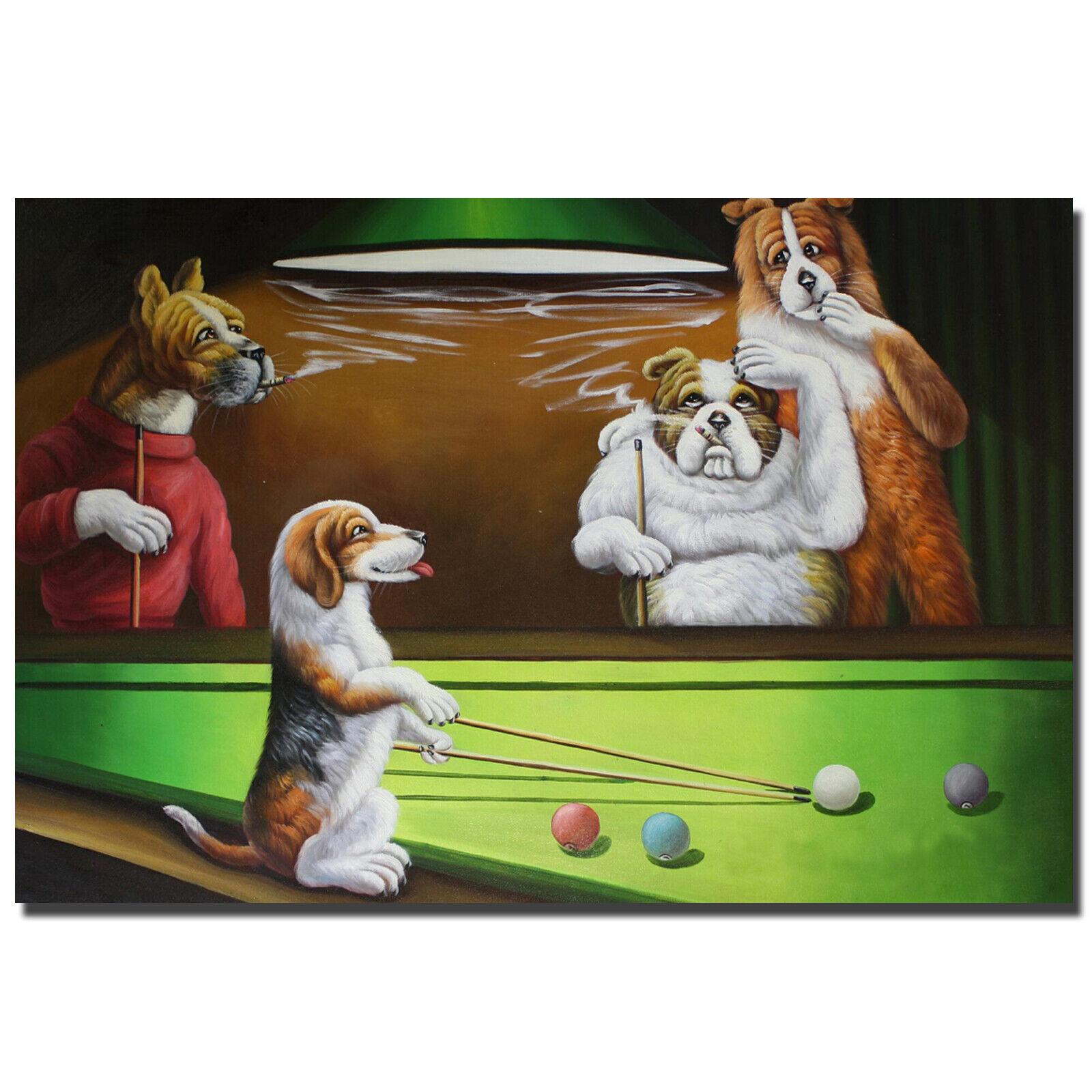 Arthur Saron Sarnoff Dogs Playing Poker Giclee Paper Print Poster Reproduction