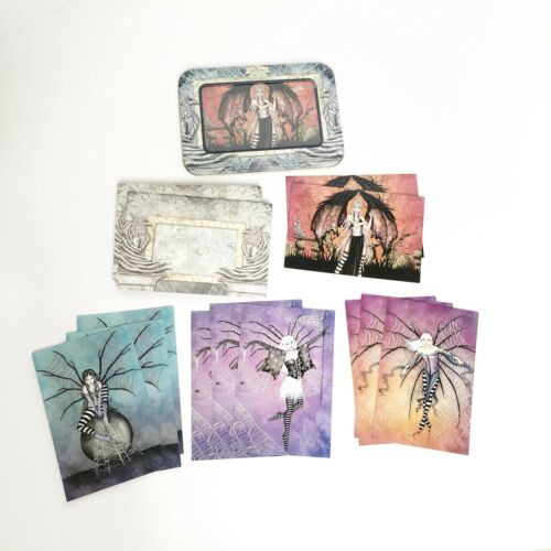 Amy Brown Note Cards Set of 12 Web Dreams Fairies Limited Edition w/ Envelopes