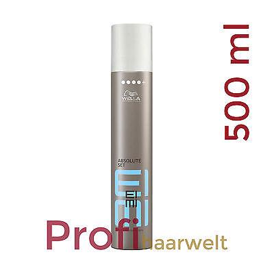 Finishing Spray Haarspray (Wella EIMI Absolute Set Finishing Spray für ultrafesten Halt, 500 ml)