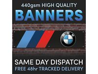 Magnetic sign DOG UNIT Black Background with White Text Vehicle Car Van 500x90