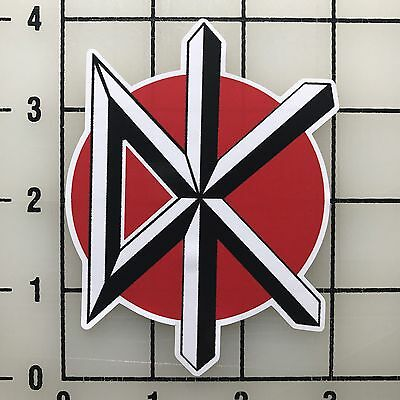 "Dead Kennedys 4"" Tall Multi-Color Vinyl Decal Sticker - BOGO"