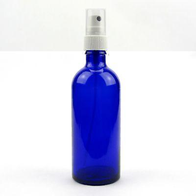 Sala Blauglasflaschen Blauglas DIN 18 Pumpzerstäuber Sprühflasche 100 ml
