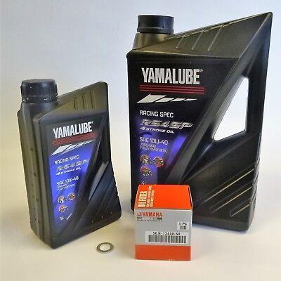 YAMALUBE 5L RS4GP RACING OIL SERVICE KIT  <em>YAMAHA</em> YZF R1  R1M 2015 ON