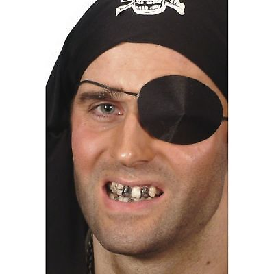 Black Tooth Wax Pirate Zombie Halloween Make Up Fancy Dress Accessory