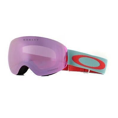 de03b61b30d7 Oakley Ski Goggles Flight Deck XM OO7064-77 Arctic Surf Coral Prizm HI Pink  Irid