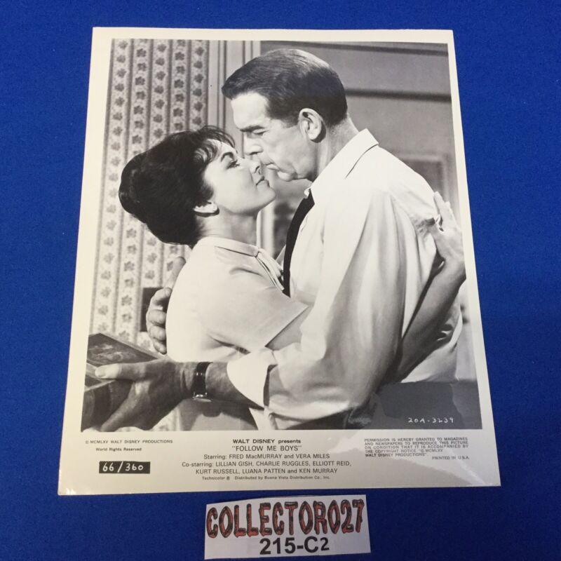 "Boy Scout Movie Promo Photo Fred MacMurray & Vera Miles ""Follow Me Boys"""