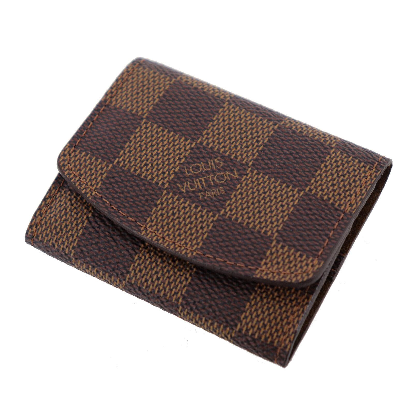 Louis Vuitton Manschettenknöpfe Manschetten Case Damier Leinen M64681